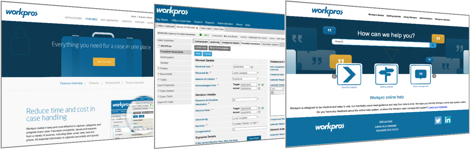 Comprehensive new Workpro product documentation created by doc-department
