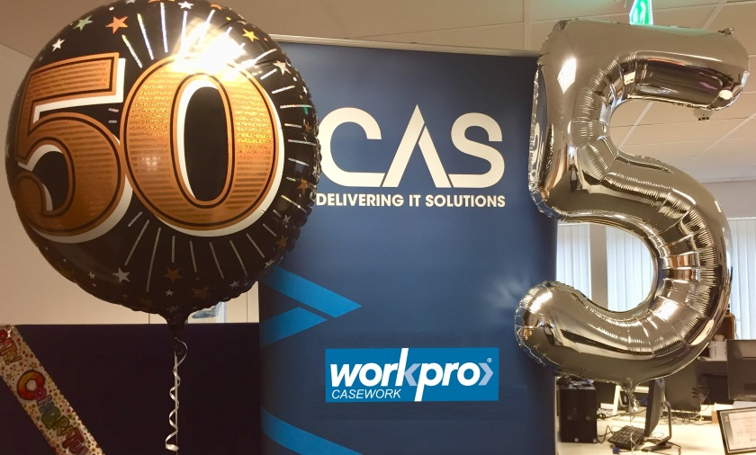 50 years in software development and 5 years employee owned – CAS celebrates two milestones